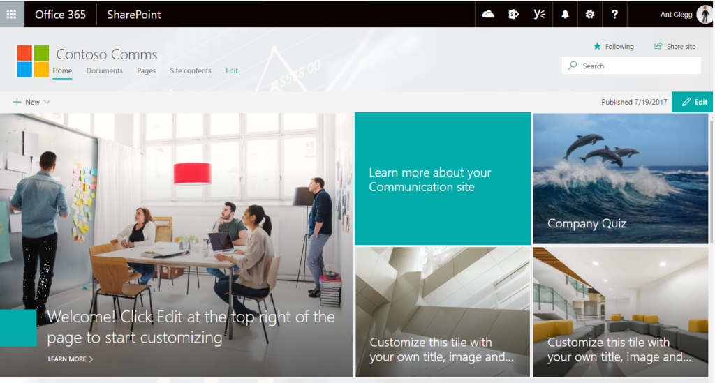 SharePoint based Community Site